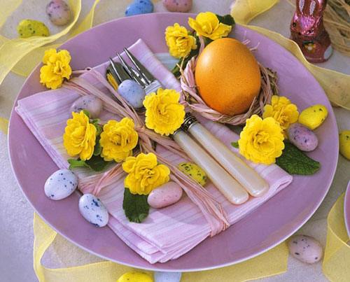 31 Beautiful Easter Table Decoration Ideas