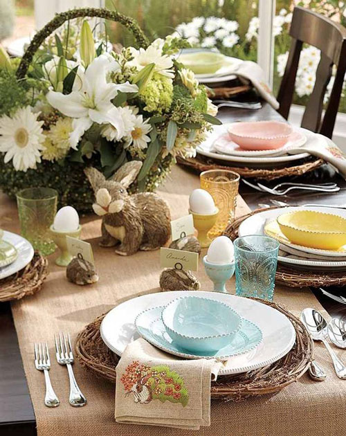 31 beautiful easter table decoration ideas design swan