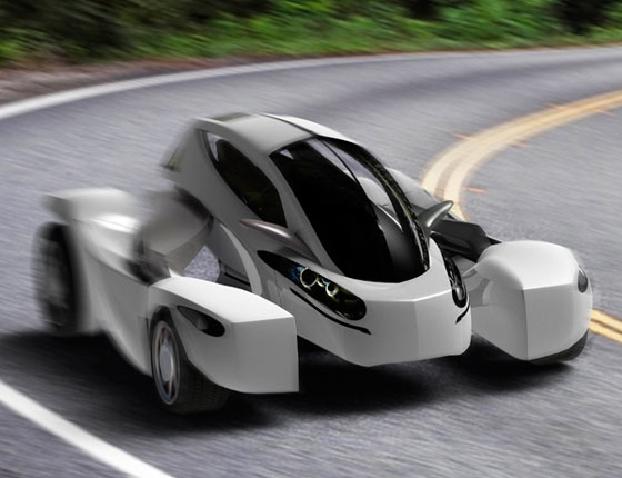 MONO: Innovative Transformable Electric Vehicle