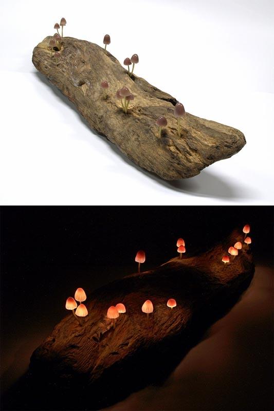 The Great Mushrooming: Interesting LED Mushroom Light