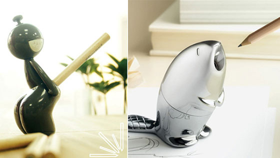 6 Cool and Unusual Pencil Sharpeners