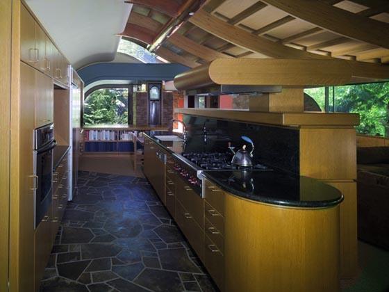 Wilkinson Residence: Wonderful Wave House by Robert Oshatz