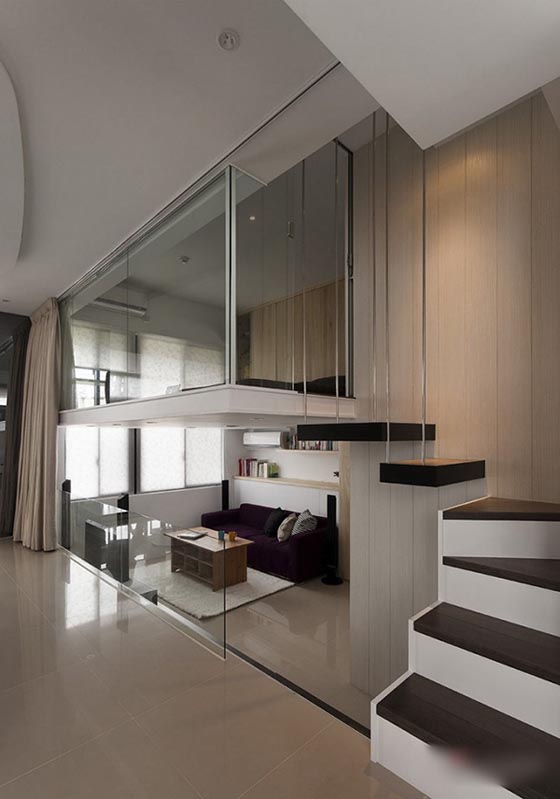 Smartly Designed Small Apartment Maximize The Utilization Of Space Design Swan