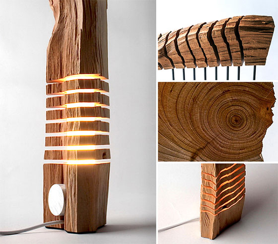 Go Nature: 9 Creative and Cool Wooden Lamp Designs