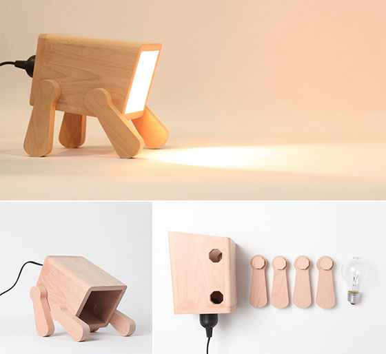 Go Nature 9 Creative And Cool Wooden Lamp Designs