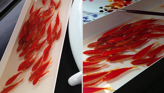 Alive Without Breath: Unbelievable Realistic 3D Painting on Layers of Resin