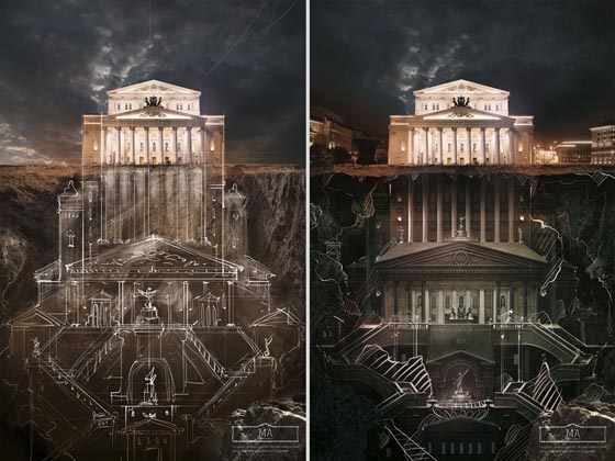 Discover the full story: Creative Museum Campaign about Russian Architecture
