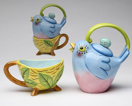 Cute and Cool looking Tea for One sets