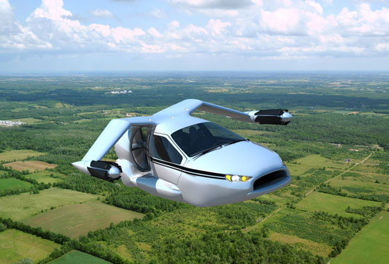 Futuristic Flying Car Concept from Terrafugia