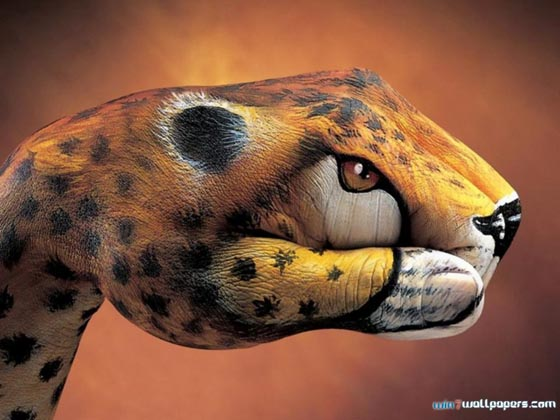 Handimals: Creative Hand Paintings by Guido Daniele