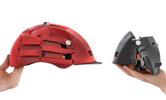Overade: Innovative Folding Bike Helmet