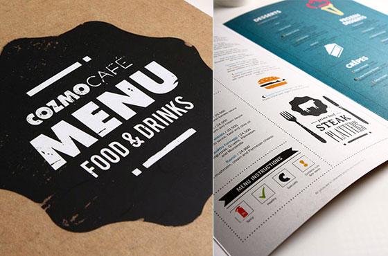 25 Inspiring Restaurant Menu Designs