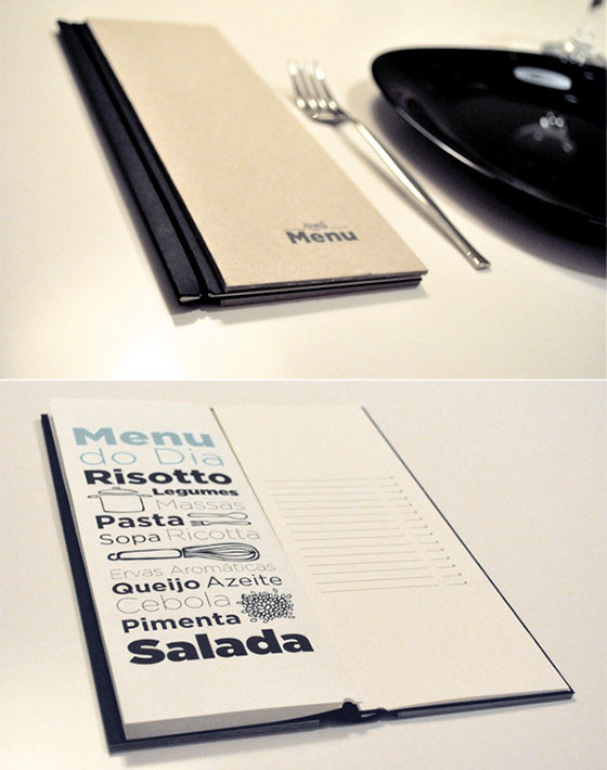 25 Inspiring Restaurant Menu Designs