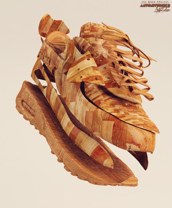 Wooden: Incredibly Realistic 3D Illustrations by Antoni Tudisco
