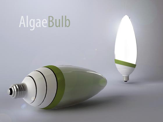 AlgaeBulb: a Green Power Light Bulb by Gyula Bodonyi
