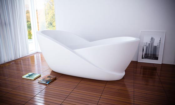 15 Cool and Fancy Bathtubs – Design Swan