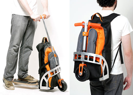 Gig Pack: Scooter Backpack for Daily Use