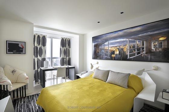 Art Gallery Like Modern Apartment in New York