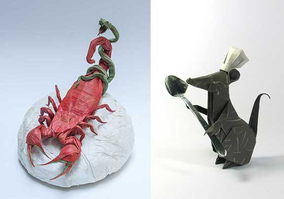 Stunning Origami Work by Nguyen Hung Cuong