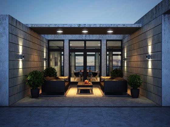 Stylish Roof Apartment in Kiev by Vitaliy Yurov