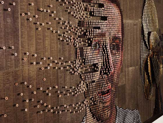 Unusual Screw Art by Andrew Myers