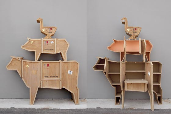 Playful Animal Shaped Furniture by Marcantonio Raimondi Malerba