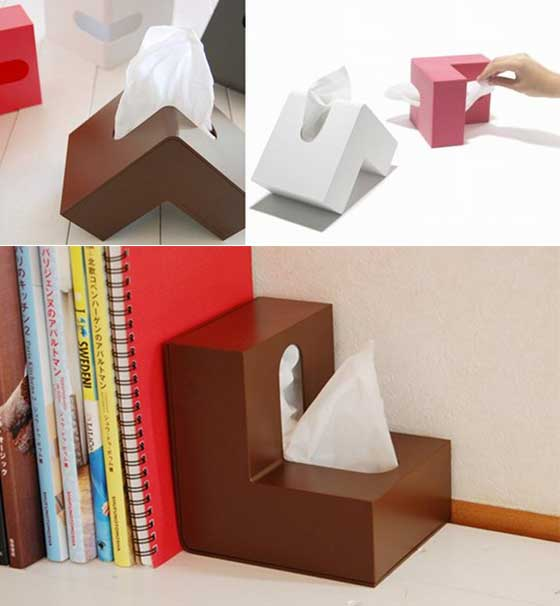7 Cool and Unusual Tissue Box / Tissue Dispenser