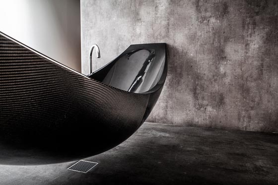 Vessel: Elegant Hammock Bathtub for Ultimate Relaxation
