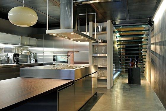 Masculine Style Italian Loft Design by Marco Dellatorre