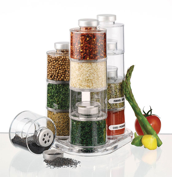10 Cool Ideas to Store and Use Spices