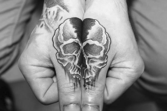 Stunning Hand Tattoo - Reveal Magic when Connect Hands Together