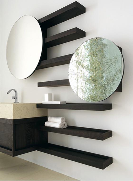 Innovative 20 Brilliant DIY Bathroom Shelf Ideas