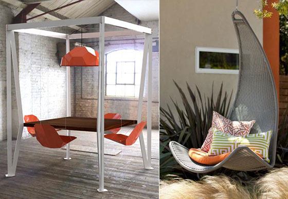 Marvelous 7 Cool Swing Chairs For Indoor And Outdoor