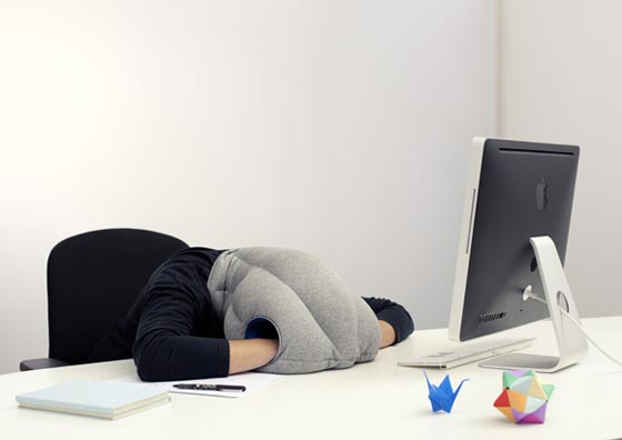 Ostrich Pillow: Micro Environment Providing Power Nap at Ease
