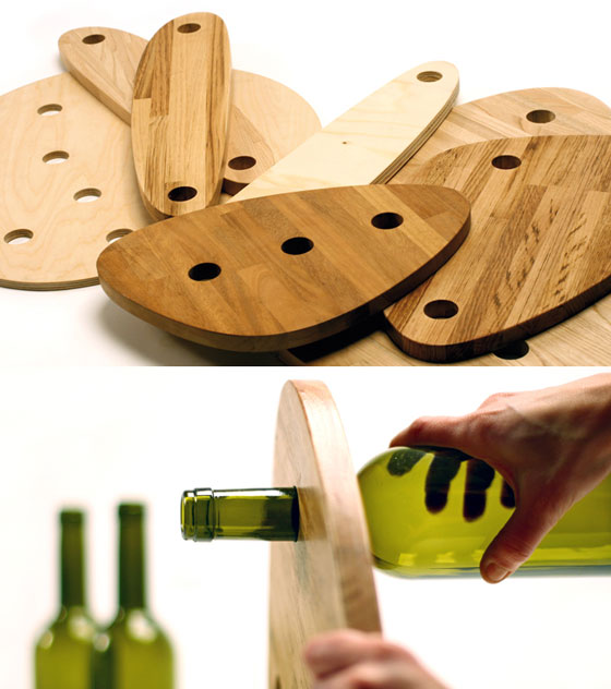Divinus: Creative Wine Bottle Recycle Furniture by Tati Guimaraes