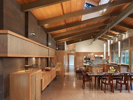 Beautiful Contemporary and Sustainable House Near Seattle
