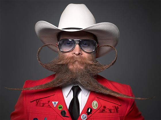 Hilarious Portraits form 2013 Just for Men National Beard & Mustache Competition