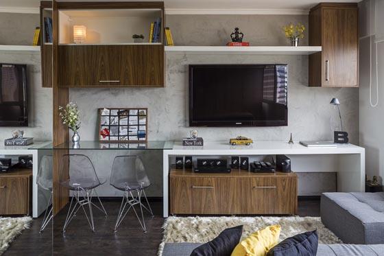 Functionally Smart Interior Design of 30 Sqm Apartment