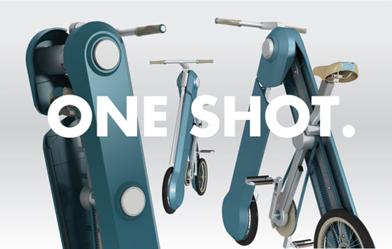 One Shot: an Innovative Micro Commuter Bike