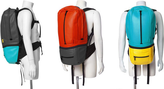 SOOT Electropack: a Transformable Bag System for the Digital Lifestyle