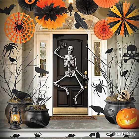 29 cool halloween home decoration ideas design swan