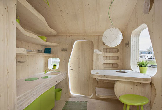Student Flat: 10 Square Meter Student Living Unit