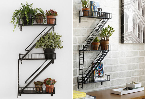 8 Creative And Unique Wall Shelves