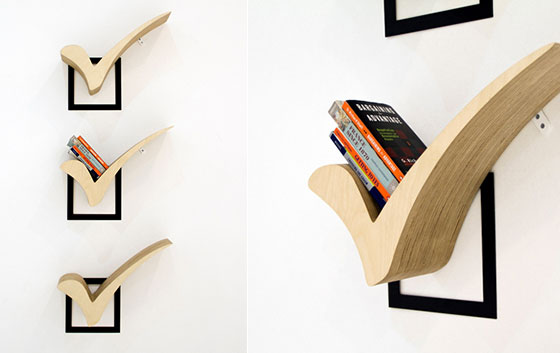 How cool your wall shelf can be 8 creative and unique Cool wood shelf ideas