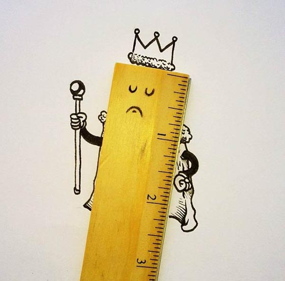 Funny and Creative Interactive Illustration by Alex Solis