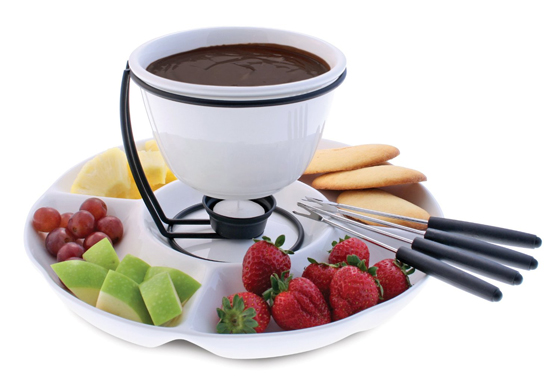 6 Cool Tea-light Dessert Fondue Sets