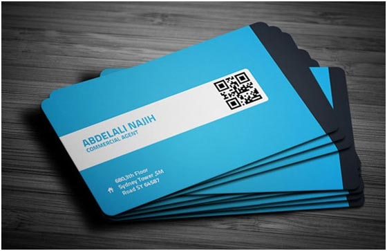 30 amazing blue business cards designs design swan 30 amazing blue business cards designs colourmoves