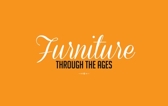 Furniture Through The Ages