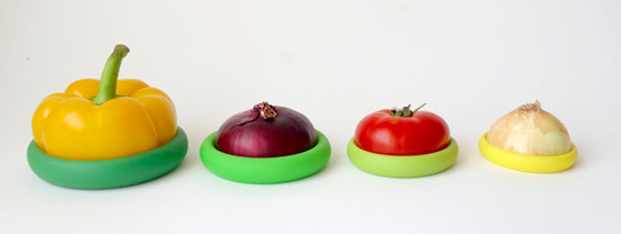Food Huggers: Keeps your Food Fresher Longer