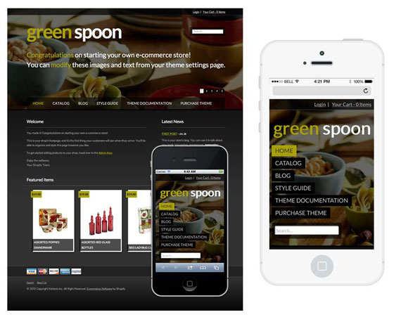 Five tips to design mobile templates